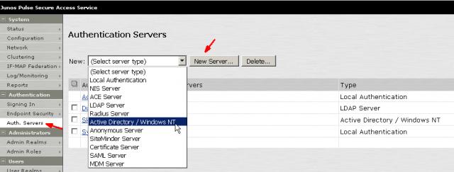 Pulse Secure Juniper SSL VPN Setup Additional Authentication