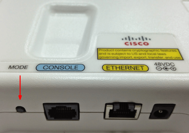 Converting Cisco Wireless Access Point from Lightweight Mode
