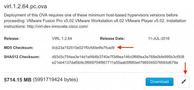 Cisco VIRL Installation on VMware Fusion Pro for Mac OS
