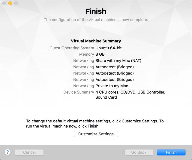 Cisco VIRL Installation on VMware Fusion Pro for Mac OS – Cisco VIRL