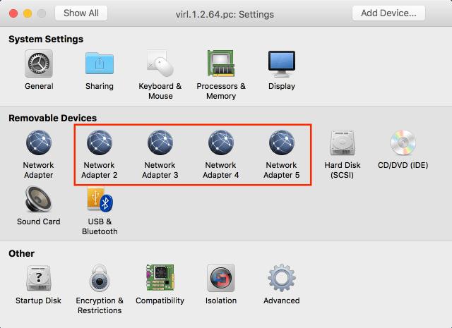 Cisco VIRL Installation on VMware Fusion Pro for Mac OS