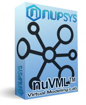 nuVML™ Virtual Modeling Lab Cisco VIRL CML 3D Network Visualization